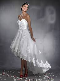 Low High Wedding Dress
