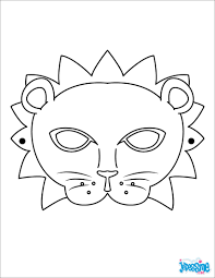Coloriage Masques Sur Hugolescargotcom