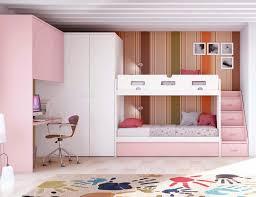 chambre avec lit superposé chambre avec lit superposé fille et lit gigogne personnalisable