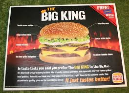 Sofa King Burger Hours by Burger King Tray Cover Little Storping Museum Tray Liner
