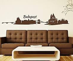wandtattoo budapest skyline ungarn wand aufkleber
