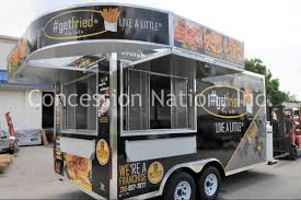 Get Fried Concession Trailer - Custom Food Trucks | Concession ...