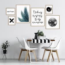 6er poster set no 50 mit design und typografie motiven 10x15 bis 30x40 cm ohne bilderrahmen