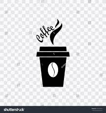 Coffee Cup Icon With Beans Transparent Background
