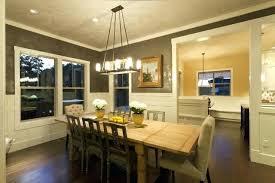 Craftsman Lighting Dining Room Northwest Traditional Mission Style