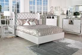 Aico Hollywood Loft Bedroom Set Collection with Upholstered