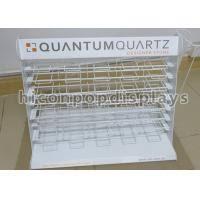 buy metal wire showroom tile display racks countertop marble tile