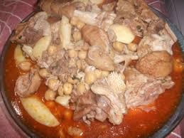 cuisiner pieds de mouton bouzellouf chtetha tête et pied de mouton en sauce cuisinestyle