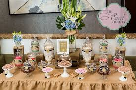 Lace Wedding Buffet Sweet Work Rustic Candy Ideas The Societys