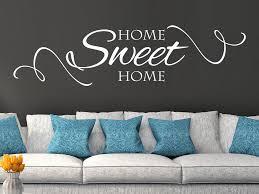 wandtattoo home sweet home zuhause ist es am schönsten