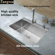 Best Quality Kitchen Sink Material by Tangwu More High Grade Kitchen Sink Food Grade 304 Stainless Steel