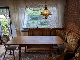 küche esszimmer eckbank staufach eiche massiv sitzecke