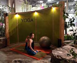 Theres Something So Peaceful About Doing Yoga Outdoors Who Wouldnt Want A Quiet Contemplative Space In Their Backyard