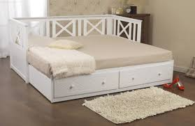 chaise drawer dreams chaise 2 drawer wooden guest daybed white from the bed