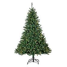 6 Pre Lit Boulder Mountain Pine Christmas Tree With 300 Clear Lights