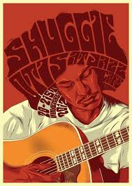 Shuggie Otis At Jazz Cafe Gig Poster For Iconic Soul Folk Musician Comeback Gigs Londons November Print On Matte Board