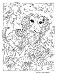 Backgrounds Coloring Complex Dog Pages On 17 Best Images About Pinterest