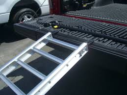 ReadyRamp I-Beam Compact Bed Extender / Ramp Silver 90