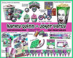 Quotes For Halloween Birthday by Harley Queen Birthday Party Squad Party Harley Quinn