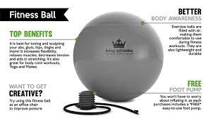 Yoga Ball Office Chair Amazon by Amazon Com Holiday Sale Stability Balance Yoga Ball Swiss