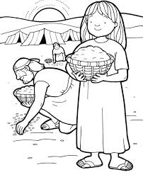 Full Size Of Coloring Pagemanna Page Manna Baby Moses Bible Pages