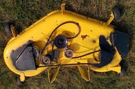 John Deere 48c Mower Deck Manual by Service Mower 42c 48c 54c John Deere Ag