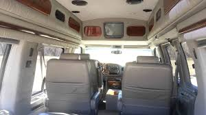 2001 Gmc Savana Conversion Van For Sale