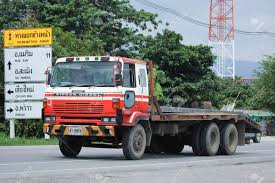 100 Nissan Diesel Truck CHIANGMAI THAILAND AUGUST 18 2016 Private Old