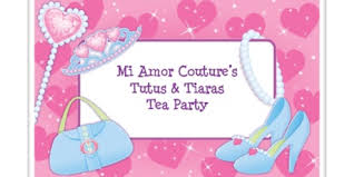 Mi Amor Coutures Tutus Tiaras Tea Party Tickets