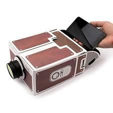 Insasta Smartphone Projector 2 0 DIY Cardboard Mobile Phone