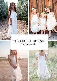21 Airy And Beautiful Boho Flower Girl Dresses