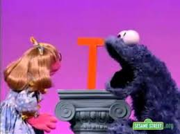 Sesame Street Letter of the Day T with Prairie Dawn and Cookie