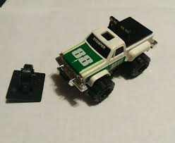 100 Stomper Toy Trucks Vintage Schaper 88 Chevrolet Stepside 4x4 Pickup Truck White