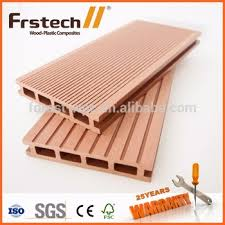 140x25mm FRSTECH Exterior Wood Plastic Composite Flooring Patio Floors Waterproof Engineered