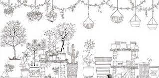 Sweet Ideas Garden Coloring Book 13 Marvelous Decoration