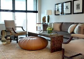 outstanding earth tone colors interesting ideas with side table