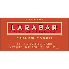 Larabar Cashew Cookie Fruit Nut Bars