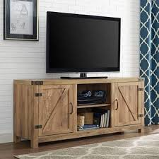 The Gray Barn Firebranch Door TV Stand With Doors 2 Options Available