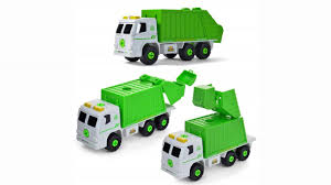 100 Garbage Truck Youtube Take Apart Recycling With Sounds Power Drill Build Your Own
