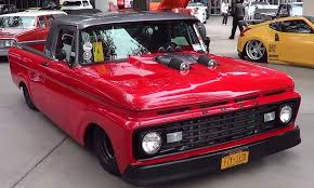 100 F100 Ford Truck 1963 Street SEMA 2013 ScottieDTV Coolest Cars
