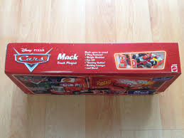 100 Cars Mack Truck Playset Disney Pixar Supercharged 295000 En