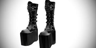 mmd dani boots gothic platform boots demonia sty by amiamy111 on
