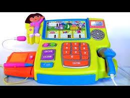 Dora The Explorer Talking Kitchen Set by Dora The Explorer Talking Cash Register Toy In English Spanish By