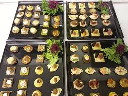 canapes for canapés for chagne and canapé evening picture of number