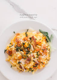 Pumpkin Risotto Recipe Easy by Pumpkin Risotto With Pancetta And Sage Kaley Ann