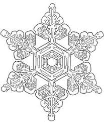 Snowflake Designs Dover Publications Sample Coloring PagesColoring