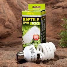 reptile lighting exo terra reptile uvb 100 tropical terrarium