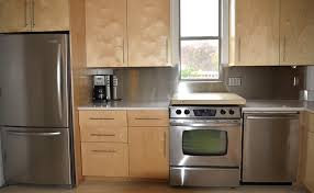 ApartmentNatural Wood Cabinet For Small Kitchen Design In Apartments Idea Apartment Decorating Ideas