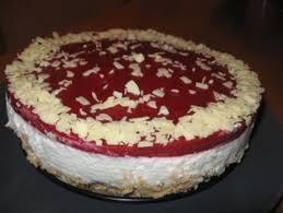 himbeer quark mini torte