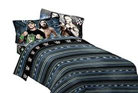 amazon com wwe industrial strength twin sheet set home kitchen